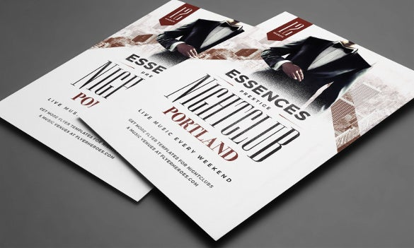 essences flyer template