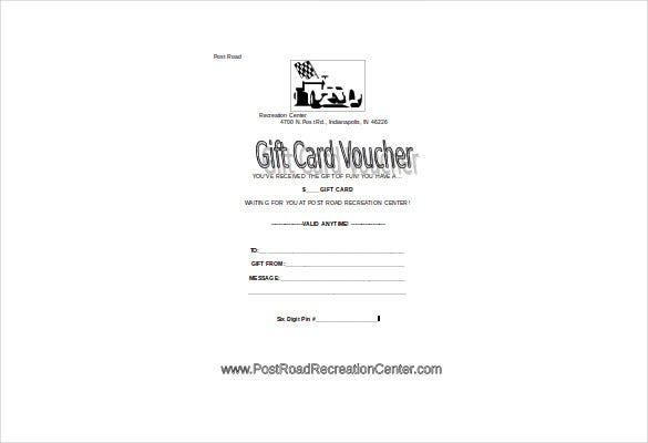 free gift card voucher template download