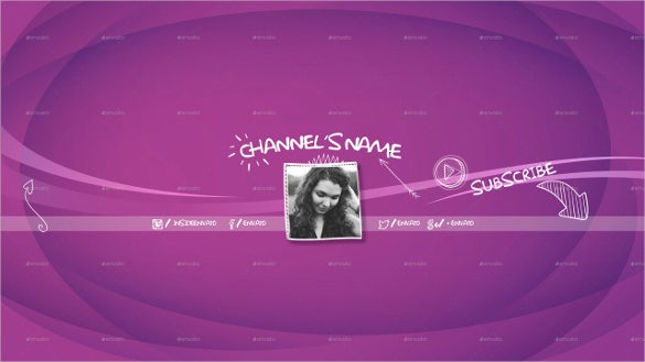 women youtube sample banner template