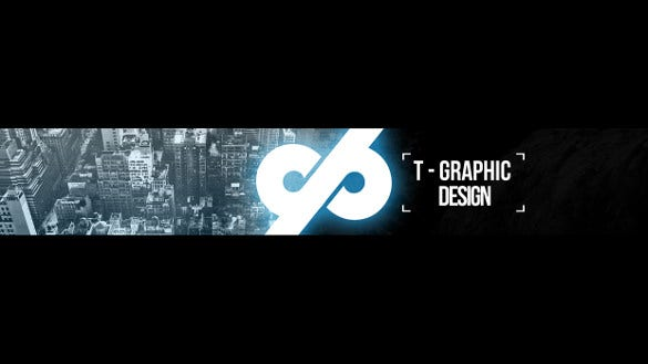 editable youtube sample banner template