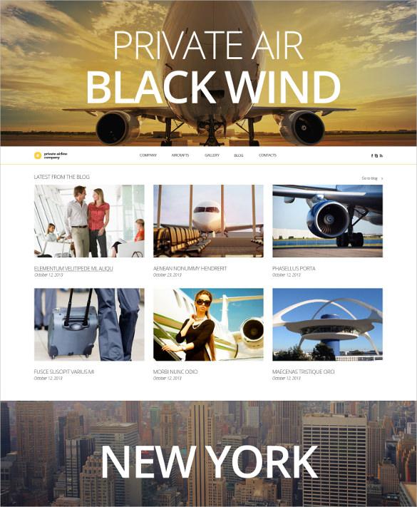 private transporation website template