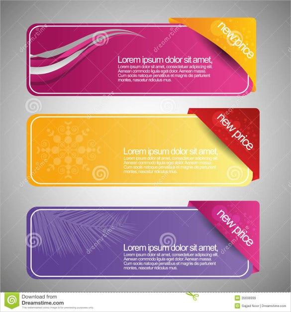 18 free banner templates free sample example format download