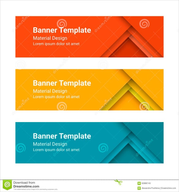 18 free banner templates free sample example format download free premium templates - Picture design samples ...