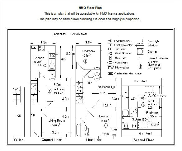 Hmo Floor Plan Free Download Doc Format Template