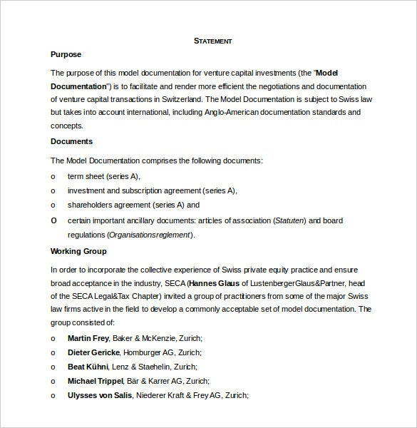 15+ Investment Agreement Templates - PDF, DOC, Xls | Free & Premium ...
