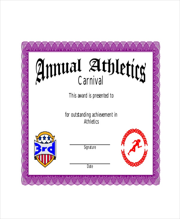 Annual-Atheleitics-Coach-Certificate-Template