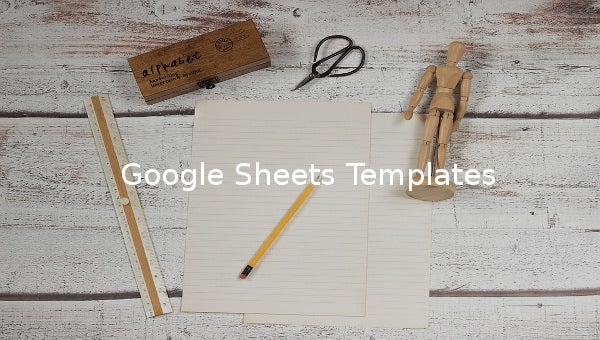 google sheets template