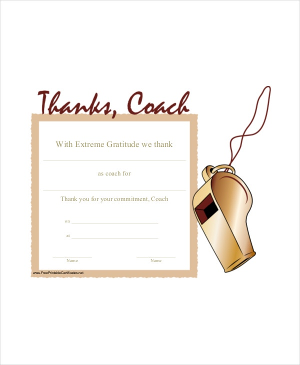 Thanking-Coach-Certificate-Template