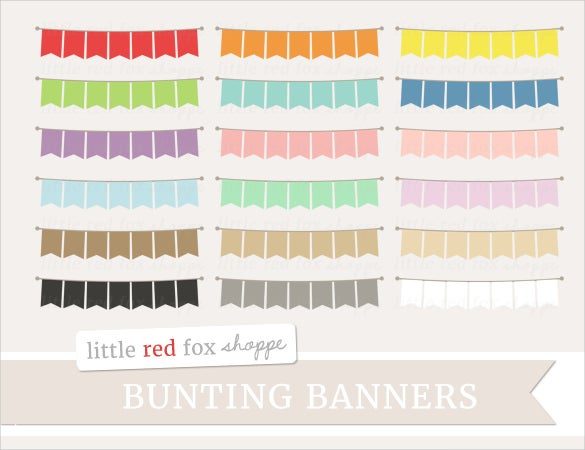printable pennant sample banner template