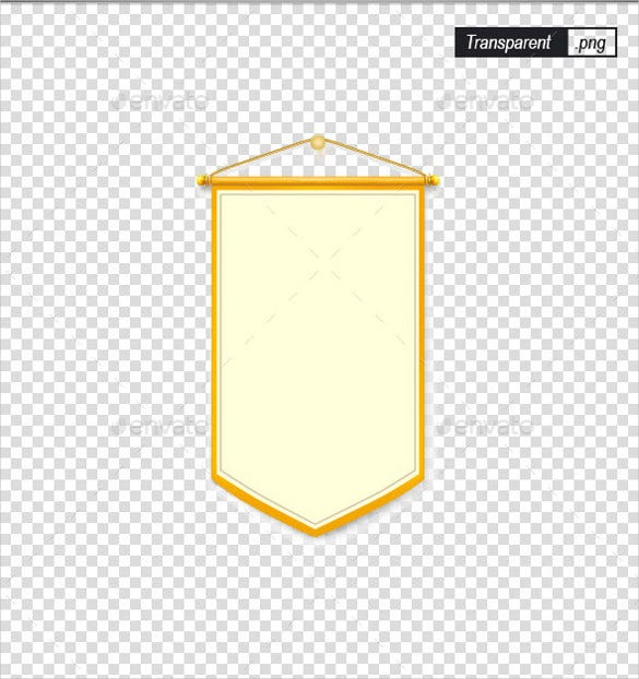 decoration sample pennant banner template