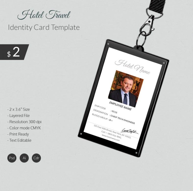 HotleTravel_Identittcard