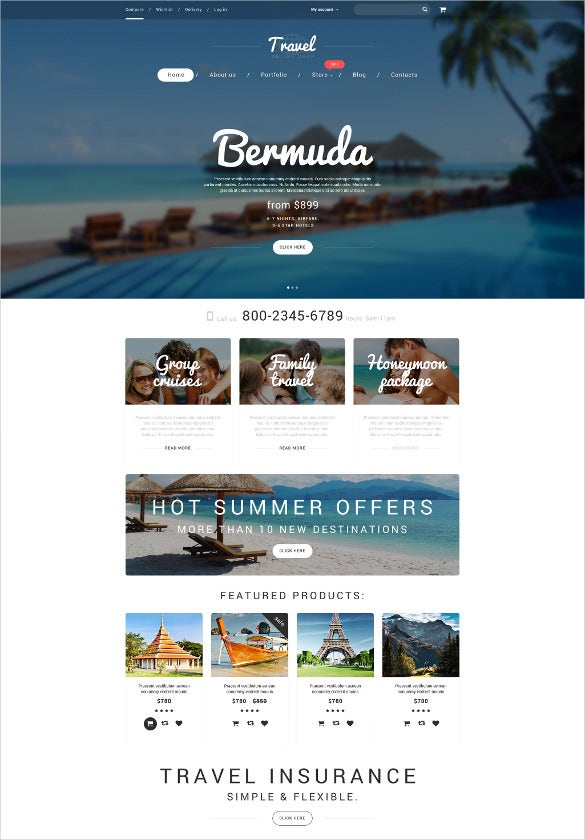 travel vacation agency woocommerce blogger theme
