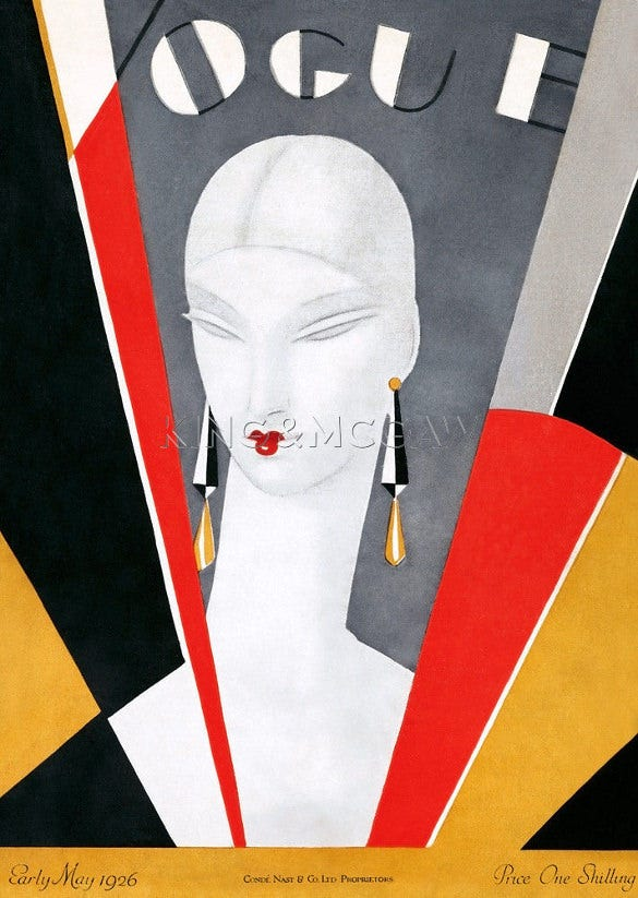 vogue early may deco poster download