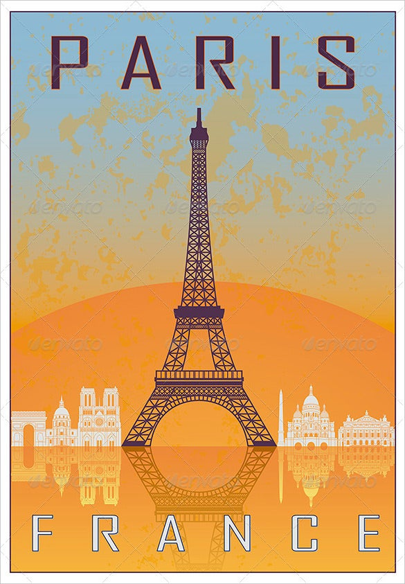 paris vintage art deco poster premium download