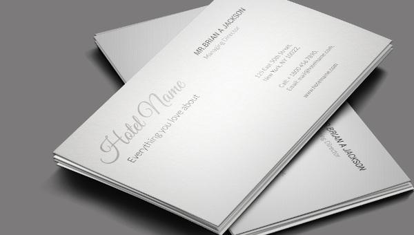 hotletravel_businesscard template