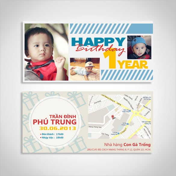 ticket voucher in birthday card style template download