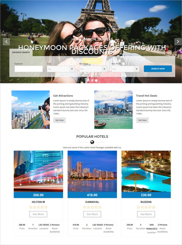 travel tourism wordpress blogger theme