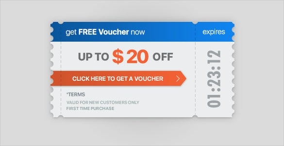 tickets vouchers template download