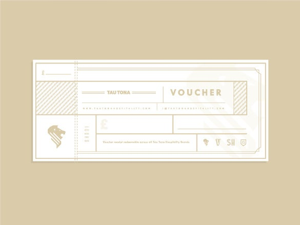 13 Ticket Voucher Templates Free Sample Example Format – Template for a Voucher