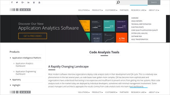 castsoftware code analysis tool download