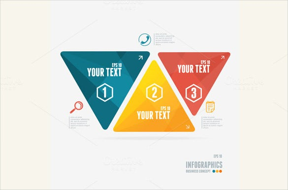 layout sample triangle banner template