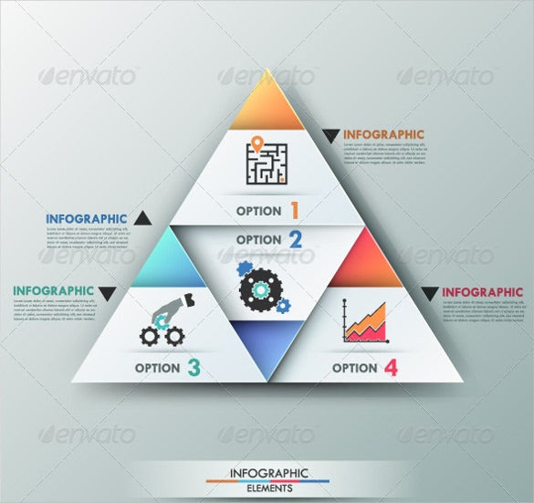 designed sample triangle banner template