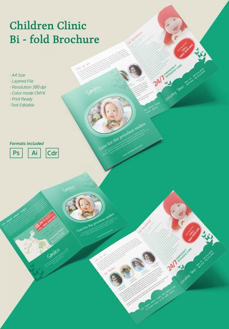 ChildrenClinic_A4bifold_Brochure
