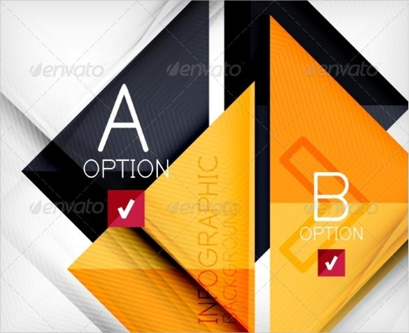 corporate triangle sample banner template