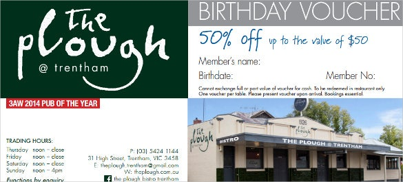 ploughtrent birthday voucher template