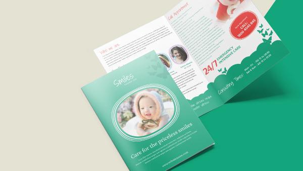 childrenclinic_a4bifold_brochuretemplatre