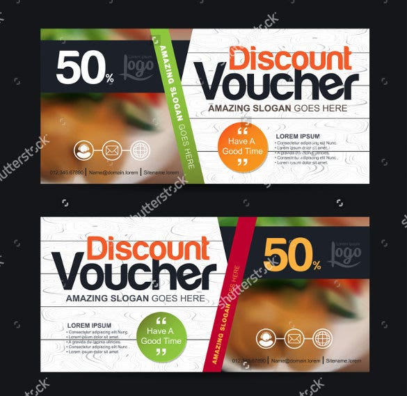 business voucher discount template download
