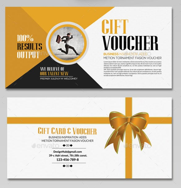business gift voucher template download