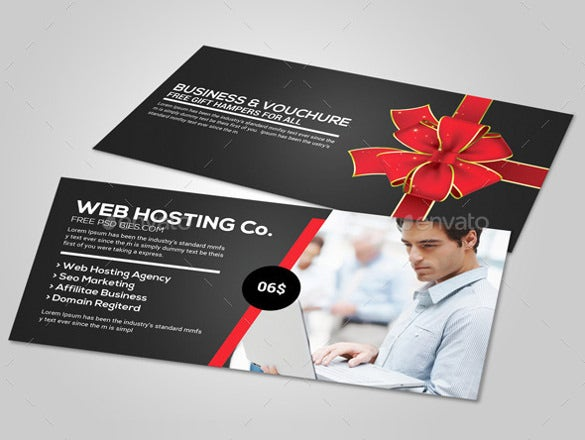 corporate business gift vouchers template download