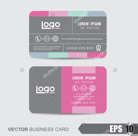 business voucher card template download