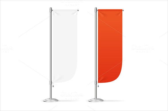 presentation sample flag banner template