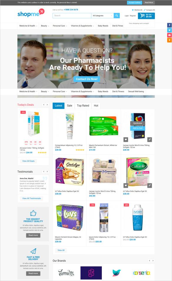 multipurpose store opencart theme