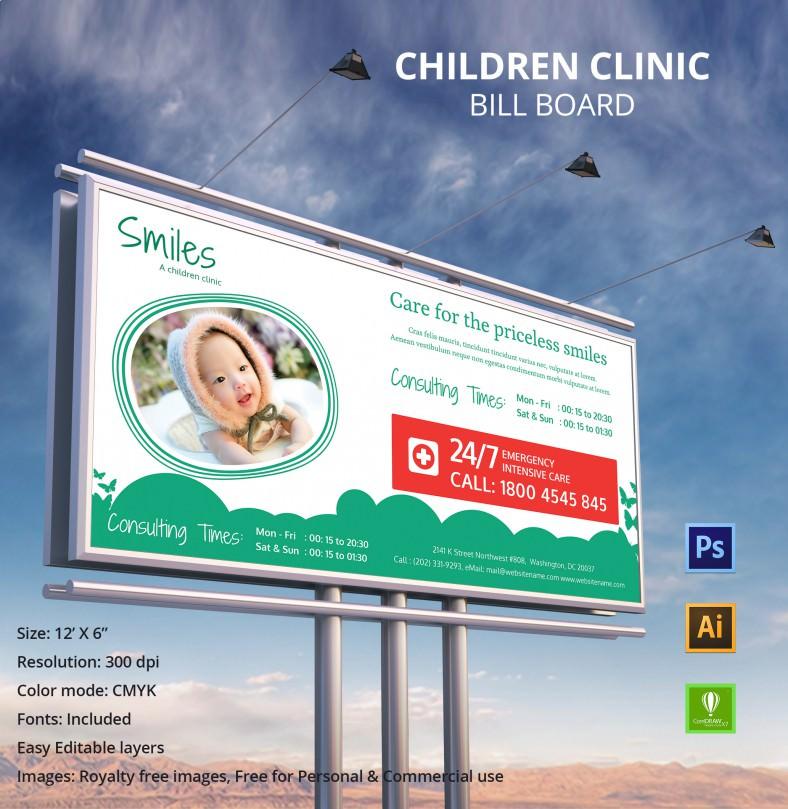 ChildrenClinic_BillBoard