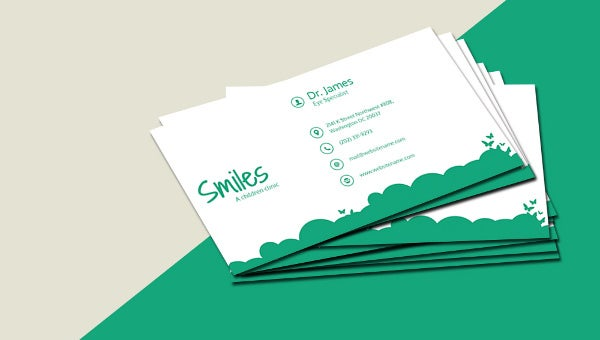 childrenclinic_businesscardtemplate