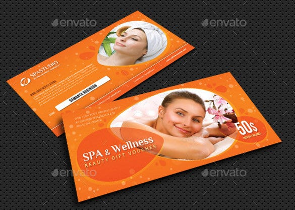 massage and wellness gift voucher bundle download