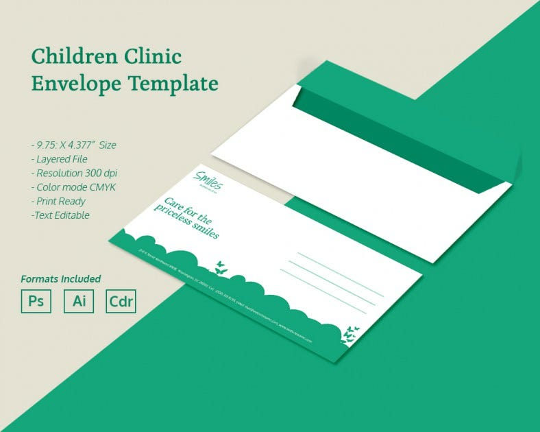 ChildrenClinic_Envelope