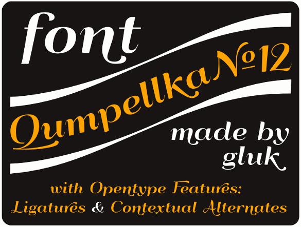 qumpellka no 12 art deco font free download