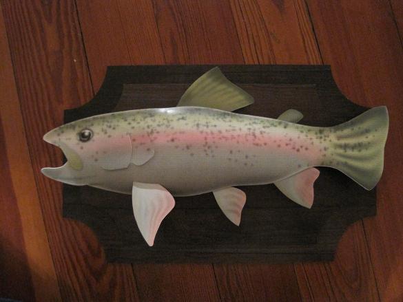 3d paper fish sculpture dowload