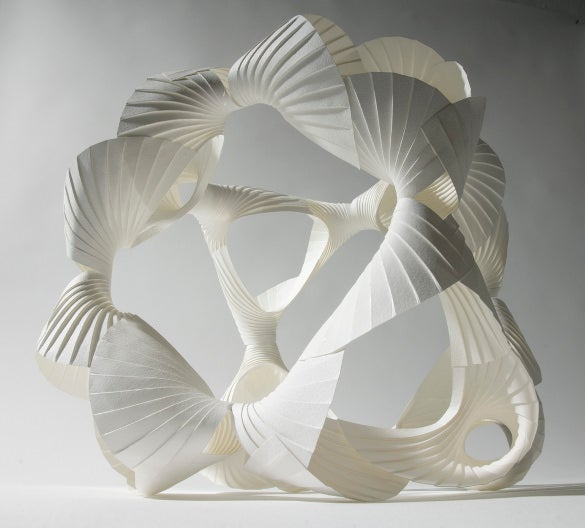download 3d art sculpture design with paper