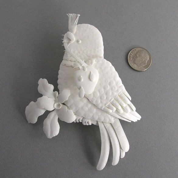 awesome 3d art bird design download