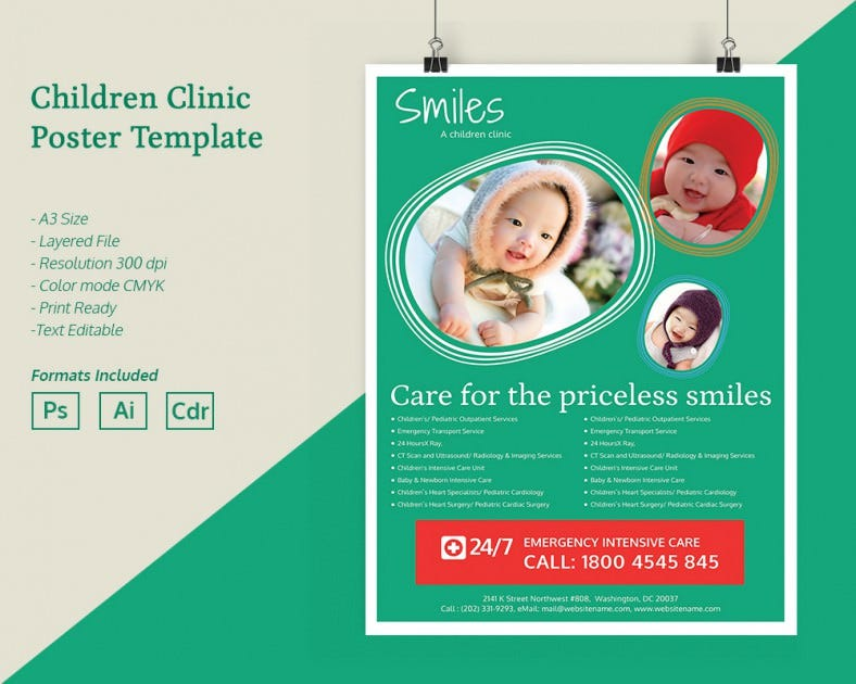 ChildrenClinic_Poster