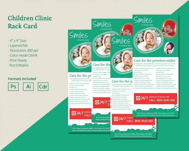 ChildrenClinic_Rackcard