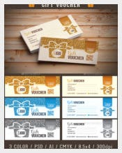 Ticket Voucher Template