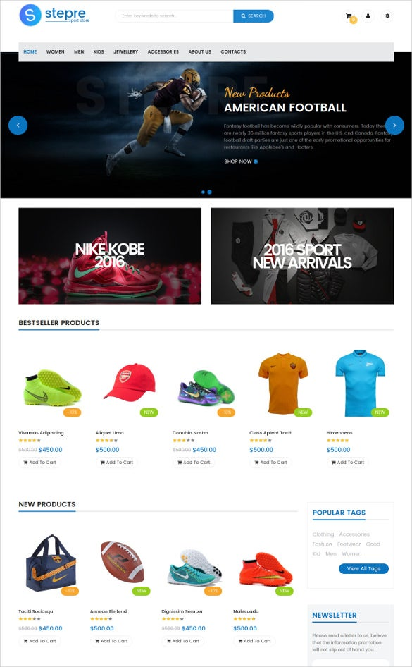 multipurpose static responsive magento website theme