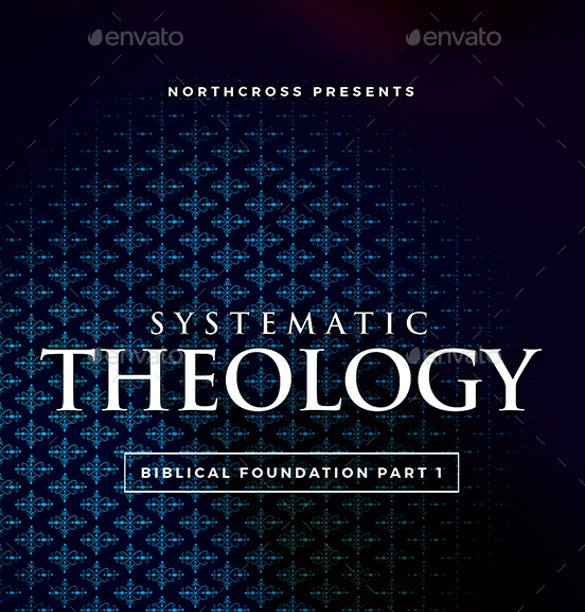 systematic theology church flyer