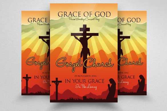 Church Flyers   Free Psd Ai Vector Eps Format Download  Free